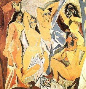 Les Senyoretes d'Avinyo 1907 Picasso
