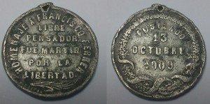 Fig. 4. Anvers i revers de la medalla de Godefroid Devreese